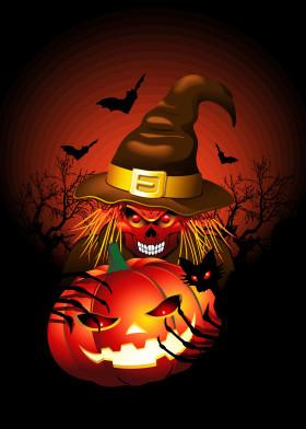 Skull Witch Monster