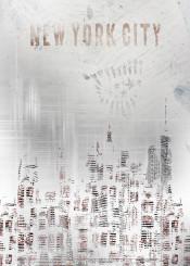 new  york  city  usa  skyline  modern  trendy  art  graphic  design  vintage  silhouette  manhattan  skyscraper  decorative  shabby  chic  elegance  urban  nyc