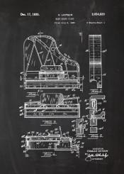 grand piano pianola forte fortepiano music musician blackboard blueprint vintage patent drawing mozart bach paganini chopin musical instrument instruments