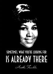 aretha franklin soul diva rnb urban jazz lady woman beegeedoubleyou black quotes white