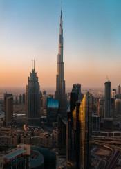 city cityscape dubai emirates