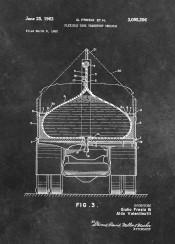 patent patents graphic illustration invention vintage scheme decor decoration black white tank  military