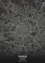 black city designer france grey map maps white