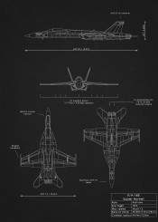 america army blueprint combat design fa18 fighter hornet jet military plane schematic super usaf war weapon
