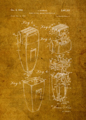 airplane blueprint camera classic electric fender golf guitar invent invention movie old patent razor series vintage