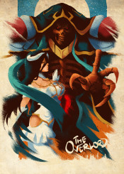 overlord anime manga nazarick albedo undead sorcerer king tomb magic fantasy wizard