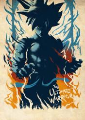 goku songoku saiyan dragonball dragon ball warrior fighter training dbz db dragonballz