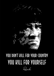 rambo movies black white quotes beegeedoubleyou quote