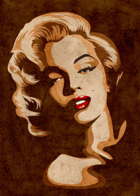 Marilyn Vintage Portrait