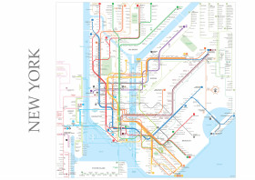 Nyc Subway Map 2017 Poster.Map Posters Metal Posters Displate