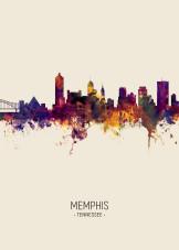Memphis posters - metal posters - Displate