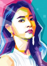 Asian Pop Art by Ramlink | metal posters - Displate