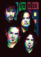 Rock Band by ICAL SAID WPAP | metal posters - Displate