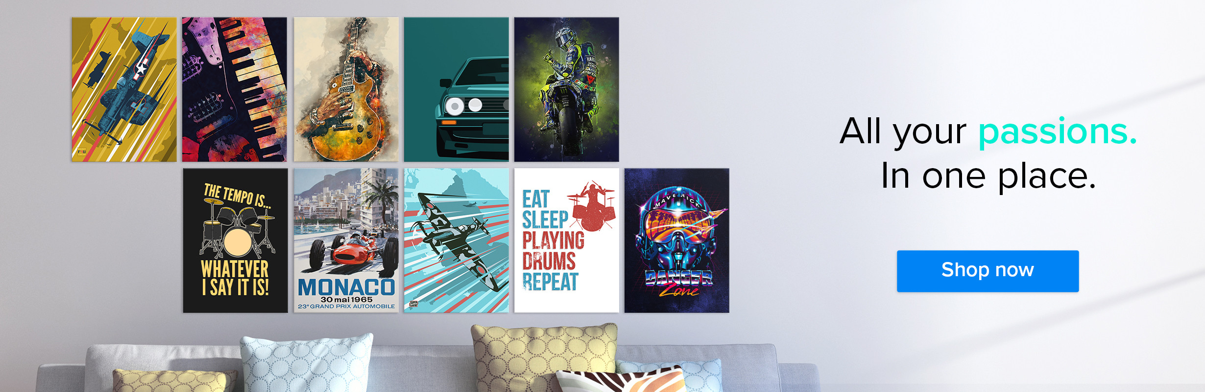 Metal posters - Displate.com