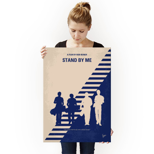minimal minimalism minimalist movie poster chungkong film artwork design stand by me Movies & TV