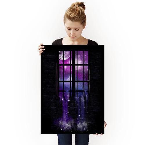 stars night cosmic universe space artsy Landscape