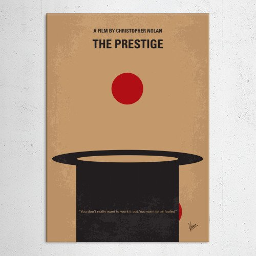 minimal minimalism minimalist movie poster chungkong film artwork design the prestige Movies & TV