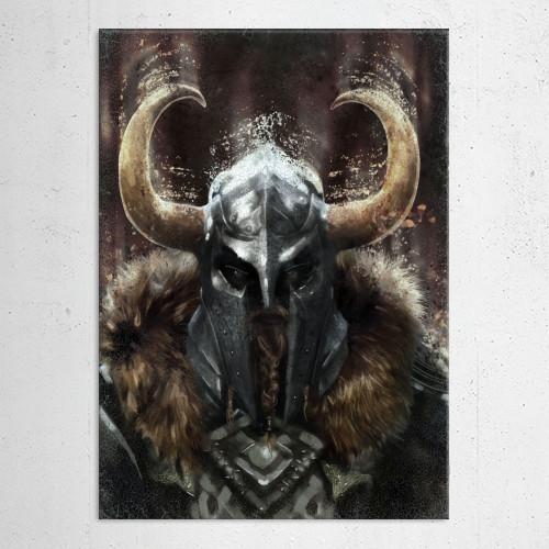 viking warrior helmet horns history gamer men him dark brown legend metal northern celtic runes man Characters