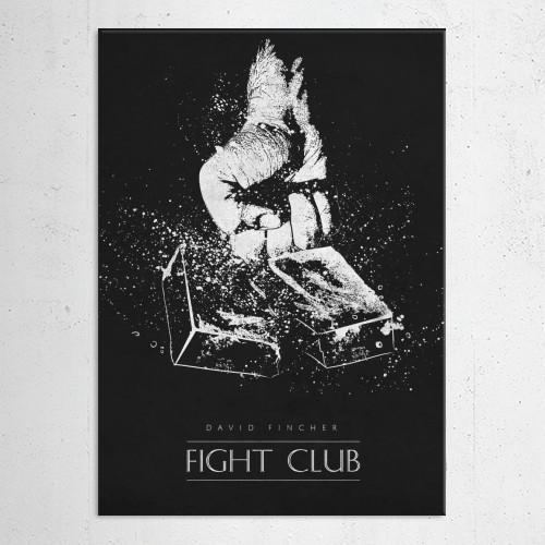 fight club david fincher brad pitt classic movies posters black Movies & TV