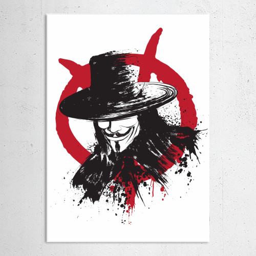 v vforvendetta comics vendetta guy fawkes remember fifth november Paintings