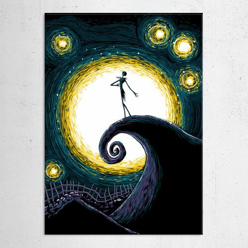Starry Nightmare by Denis Orio Ibañez | Displate