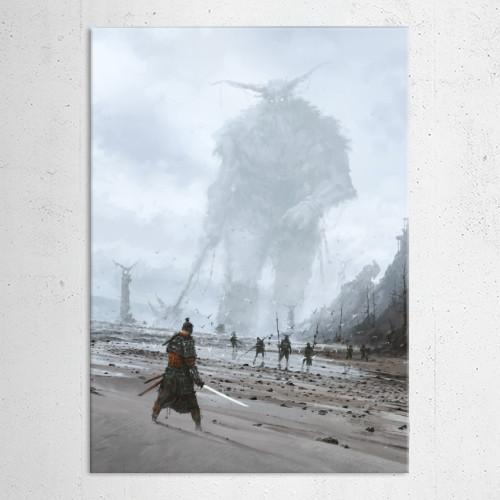 jakubrozalski painting illustration theancients games conceptart vikings samurai scary storytelling atmosphere fantasy Paintings