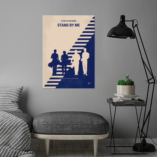 minimal minimalism minimalist movie poster chungkong film artwork design stand by me Movies & TV