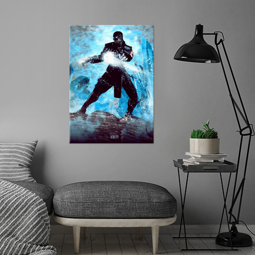 sub zero ninja fighter mortal kombat gaming ice fatality Gaming