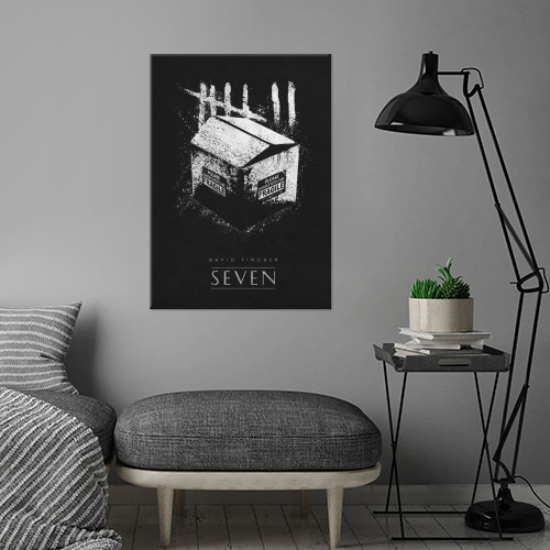 seven david fincher movie movies classic posters Movies & TV