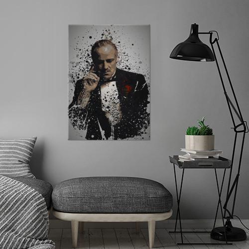 godfather don vito corleone pop culture splatter gangster marlon brando Movies & TV