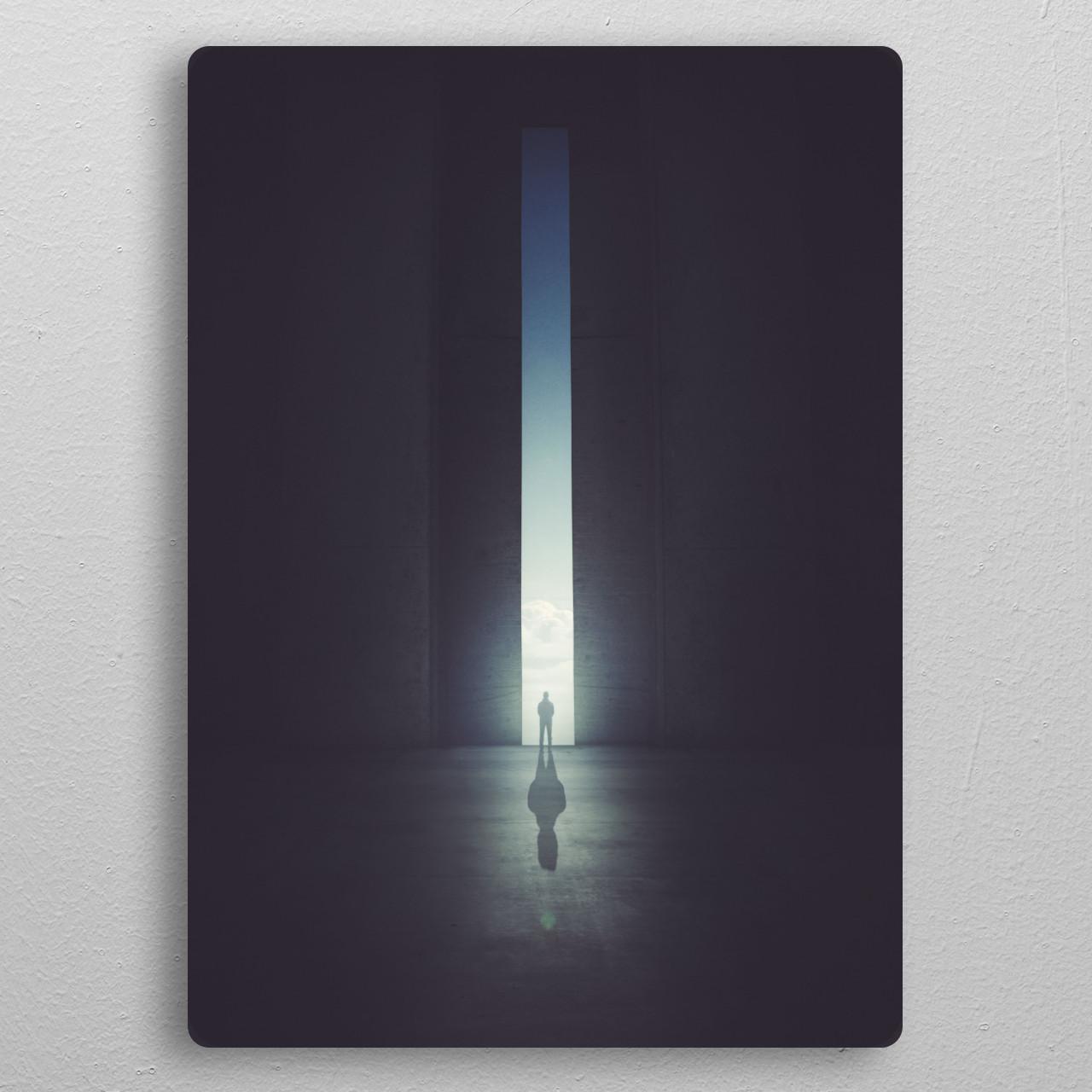 The World's Edge pocket-size metal print from Black box