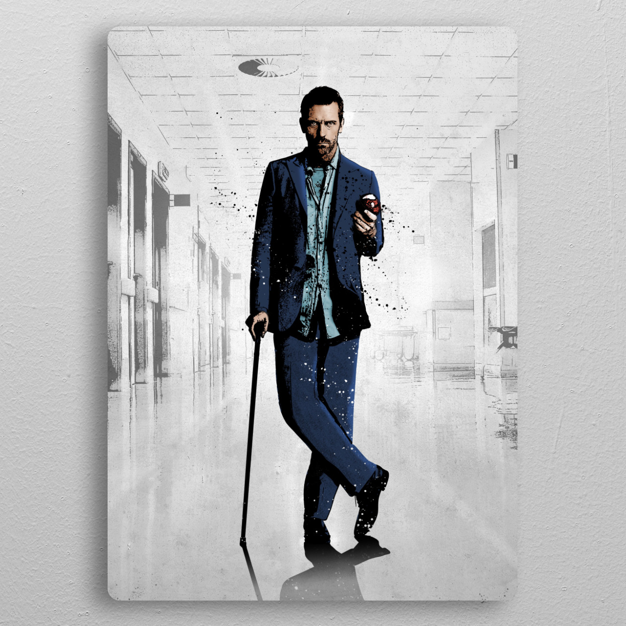 Gregory pocket-size metal print from Black box