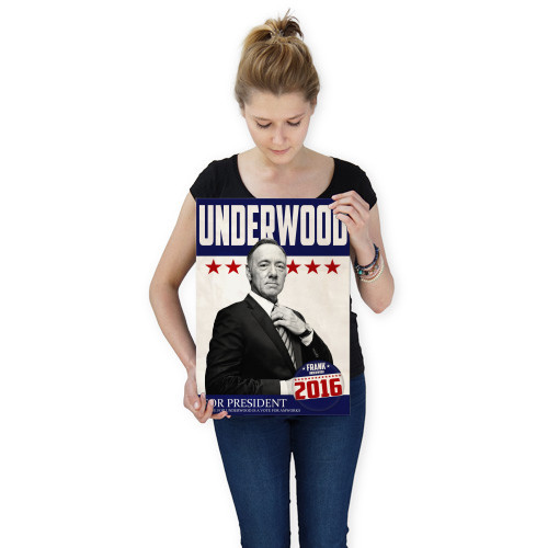 underwood frank fu president netflix election amworks house of cards red white and blue mr underwood 2016 republican democrat Movies & TV