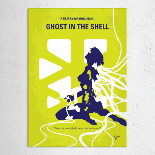 minimal minimalism minimalist movie poster chungkong film artwork design ghost in the shell Movies & TV
