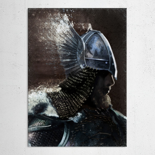 nordic warrior backlight winged helmet europe man fighter brave brown sketch battle protect soldier Characters