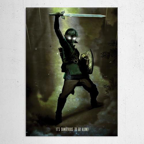 link dark zelda gaming hero Gaming