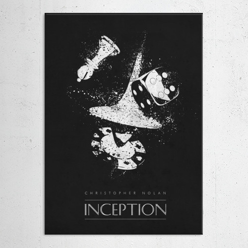inception christopher nolan classic movies posters minimalistic film Movies & TV