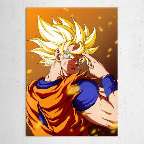 dragon ball z super saiyan goku songoku anime manga cartoon Anime & Manga