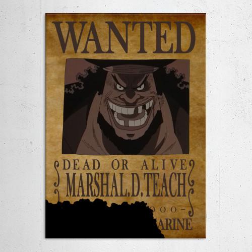 blackbeard one piece bounty - photo #31