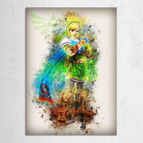 anime manga game gaming zelda link comic cartoon cool art Anime & Manga