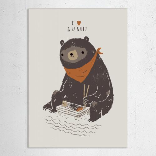 bear bears sushi cute animals bearsushi japanese tea Animals