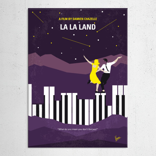 minimal minimalist movie poster artwork cinema graphic design chungkong quote inspiration la lala land damien chazelle ryan gosling emma stone hollywood jazz pianist actress los angeles famous club musical Movies & TV