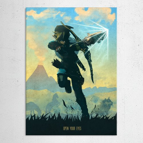 zelda legend of link breath the wild game games gamer video room rpg princess bow sword warrior knight arrow shield Gaming