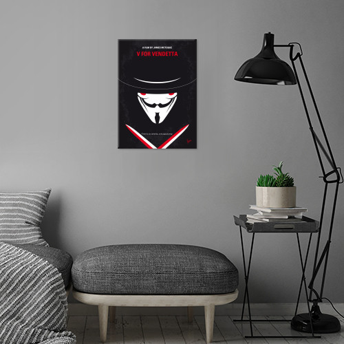 minimal minimalism minimalist movie poster chungkong film artwork design v vendetta Movies & TV
