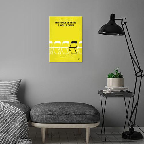 perks being wallflower introvert freshman real world novel emma watson suicide mental illness college minimal minimalism minimalist movie poster chungkong graphic design quote inspired Movies & TV
