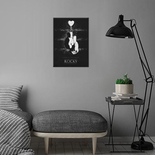rocky jogn g avildsen classic movies posters minimalistic film sylvester stallone Movies & TV