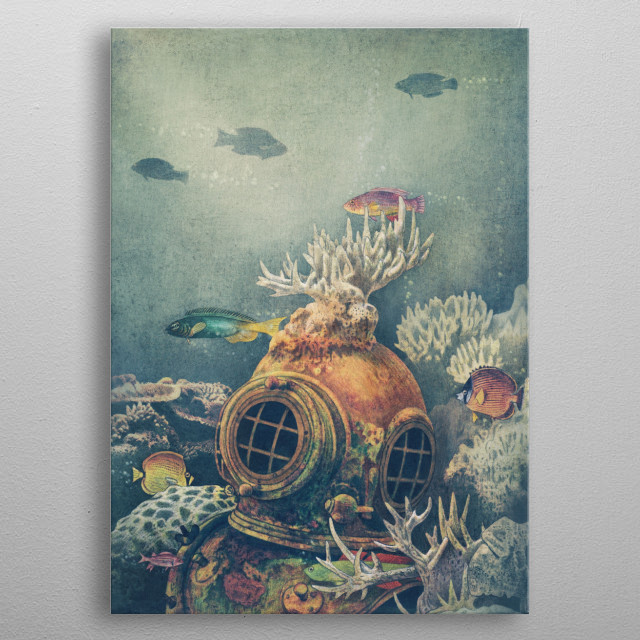 Sea-change metal poster