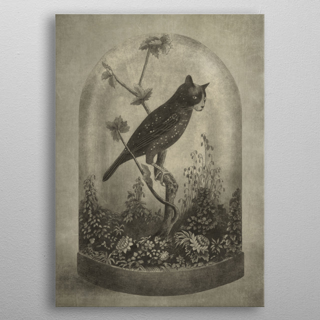 High-quality metal print from amazing Slightly Surreal collection will bring unique style to your space and will show off your personality. metal poster