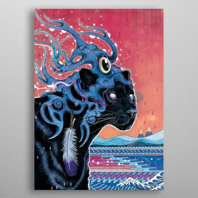 This marvelous metal poster designed by matmiller to add authenticity to your place. Display your passion to the whole world. metal poster