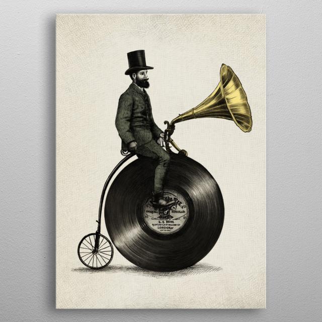 Music Man metal poster